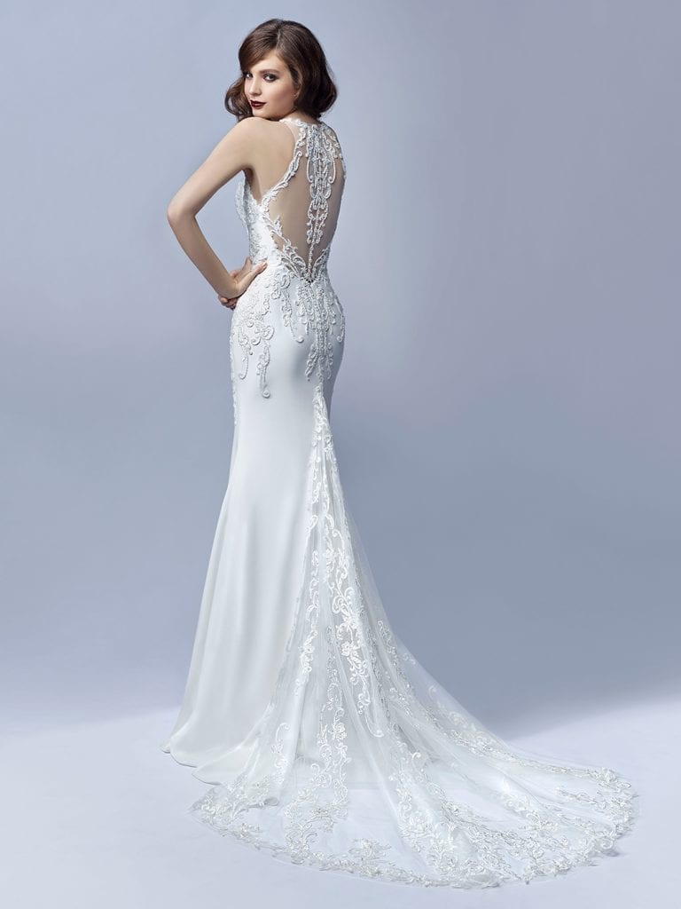 Blue by Enzoani Jaylee Wedding Dress Back