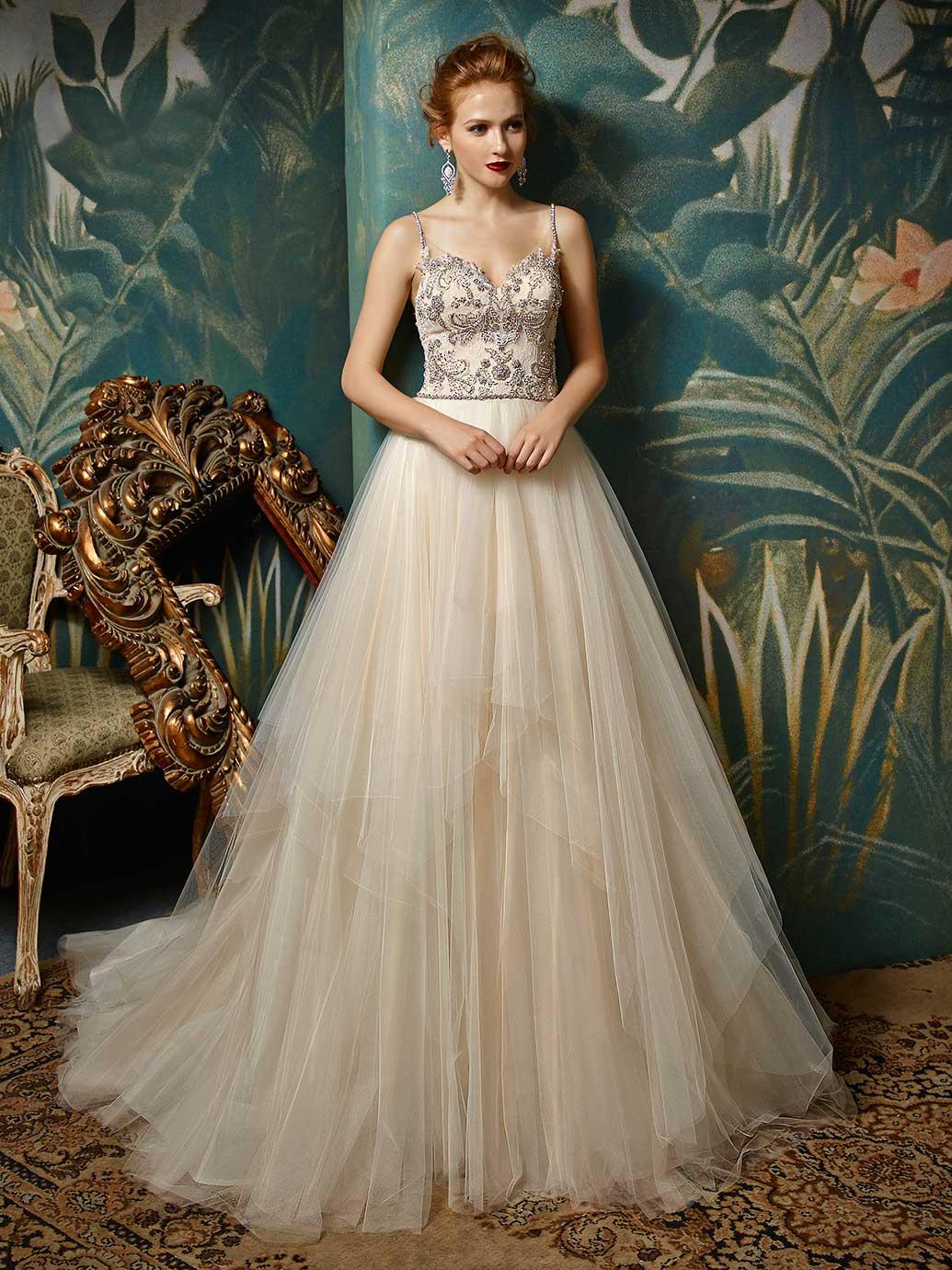 Blue by Enzoani Juri Wedding Dress Back