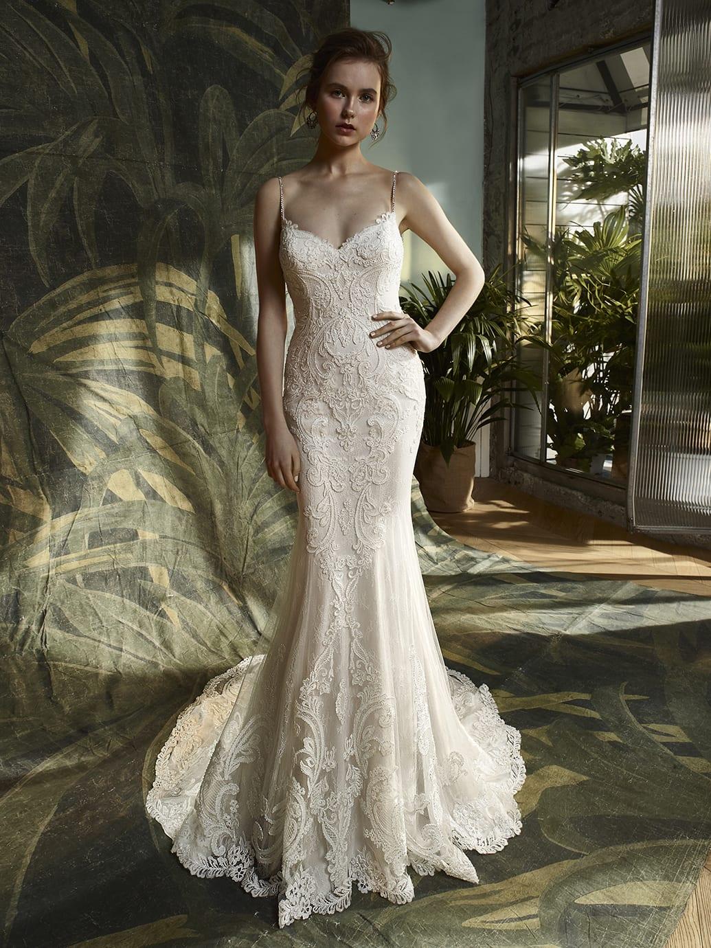 Blue by Enzoani Kamryn Wedding Dress Front