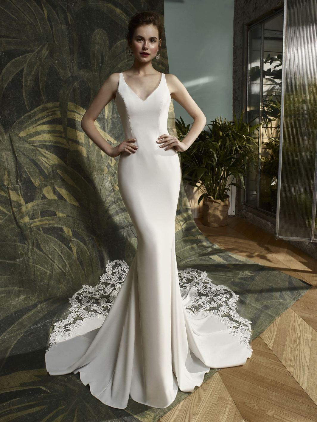Blue by Enzoani Kalypso Wedding Dress Back