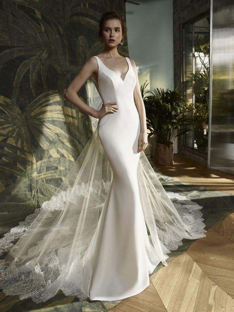 Blue by Enzoani Karmel Wedding Dress Front