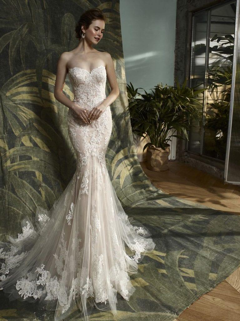 Blue by Enzoani Katerina Wedding Dress Front