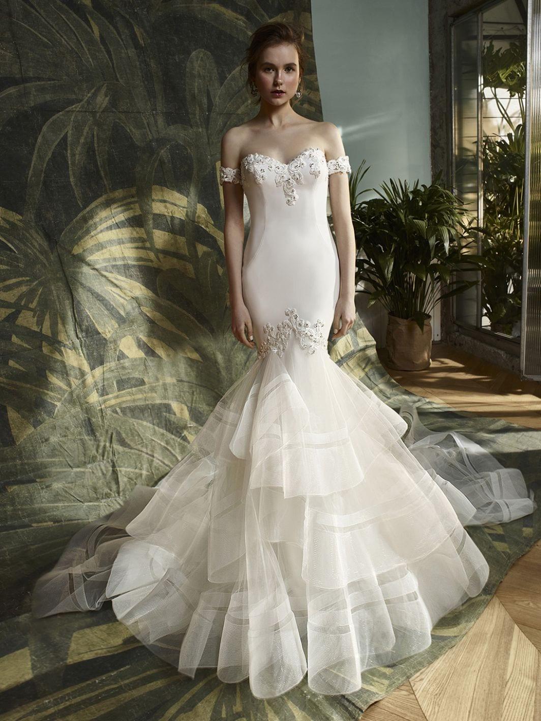 Blue by Enzoani Kathy Wedding Dress Front
