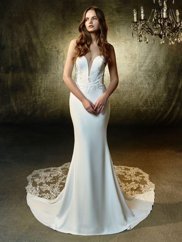 Enzoani Lainey Wedding Dress Front