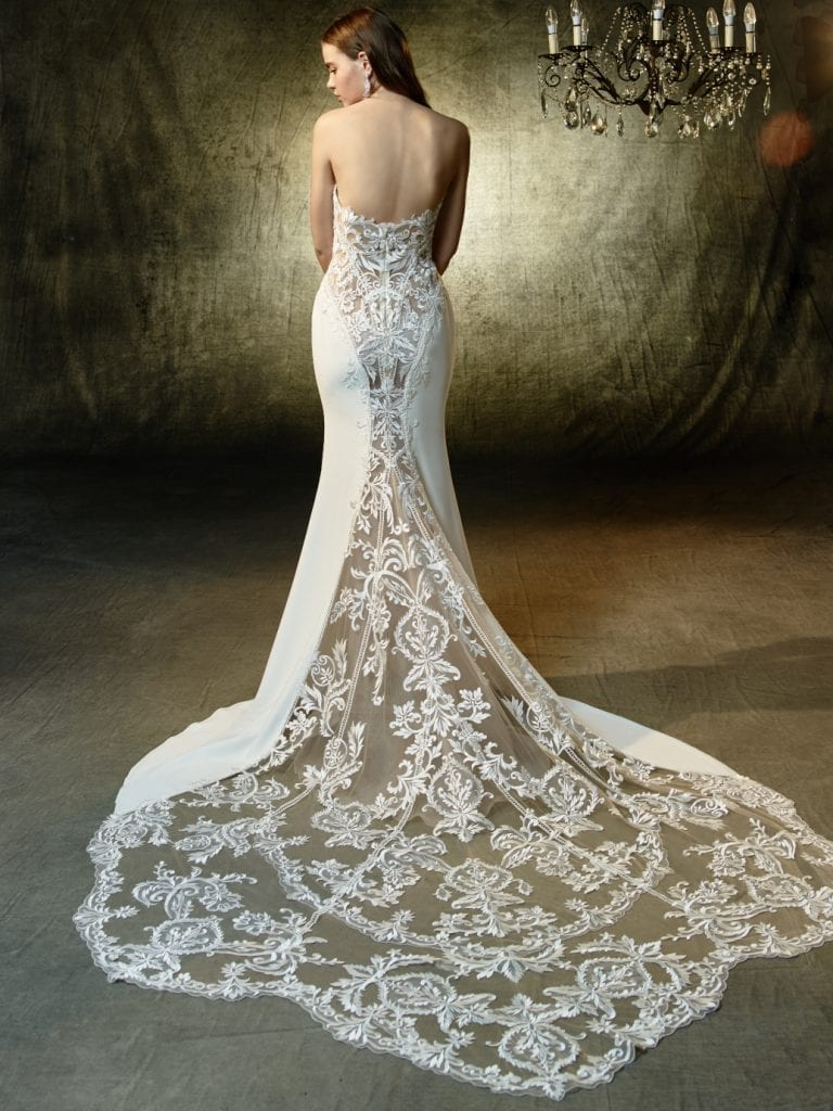 Enzoani Lainey Wedding Dress Back