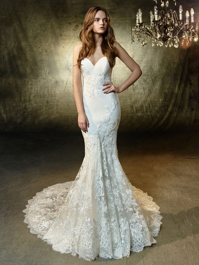 Enzoani Lesley Wedding Dress Back