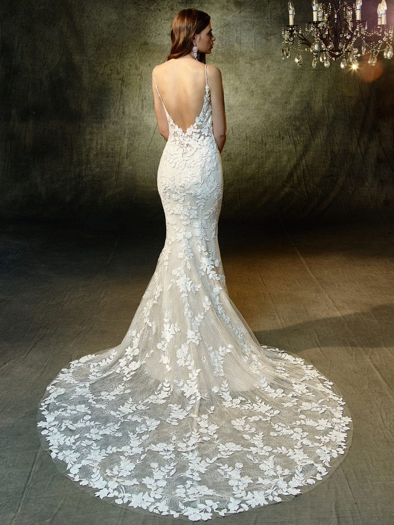 Enzoani Lesley Wedding Dress Back