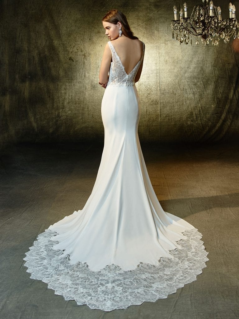 Enzoani Luz Wedding Dress Back