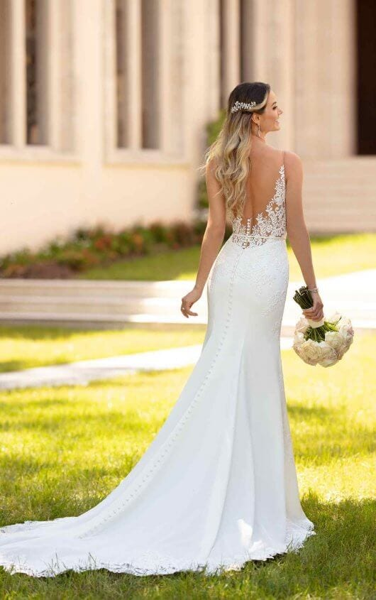 Stella York Simple and Sleek Wedding Dress