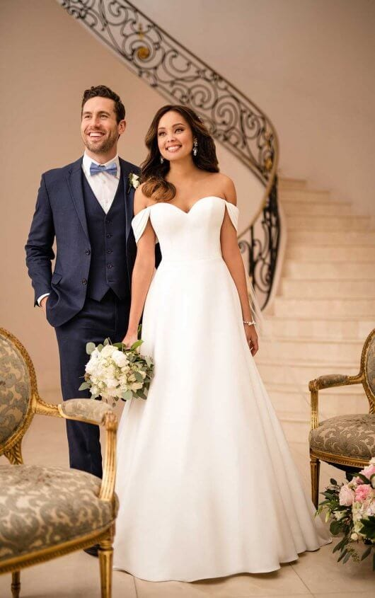 Stella York Wedding Dress Off Shoulder Classic