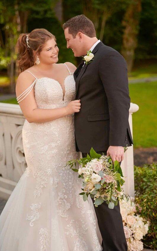 Stella York Wedding Dress Curve Lace