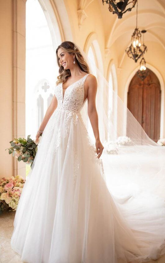 Stella York Wedding Dress Floaty Lace