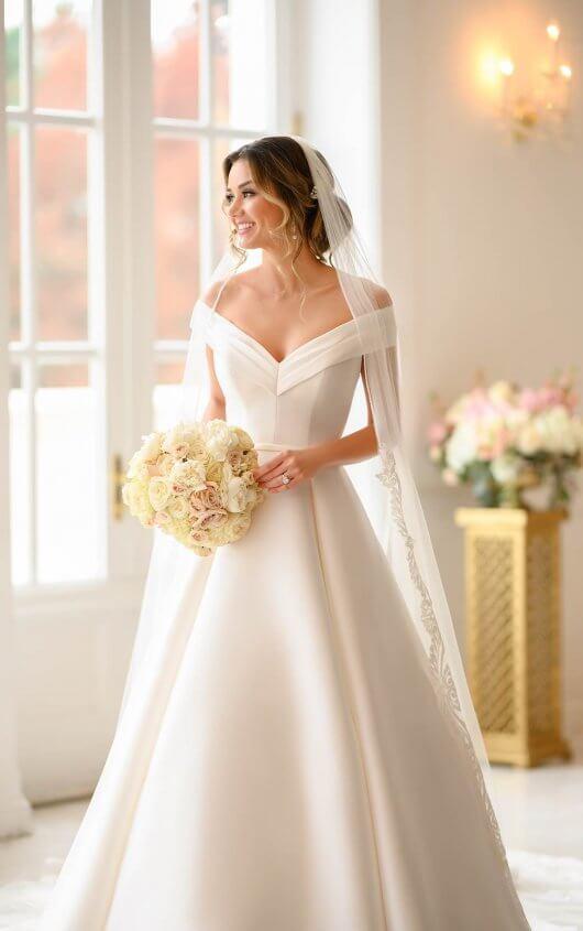 Stella York Wedding Dress Classic White