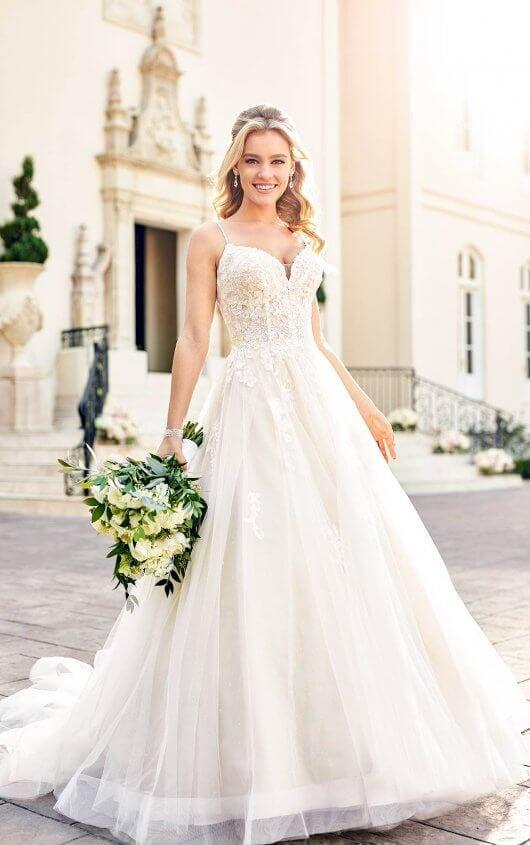 Stella York Wedding Dress Laced Detail Bust