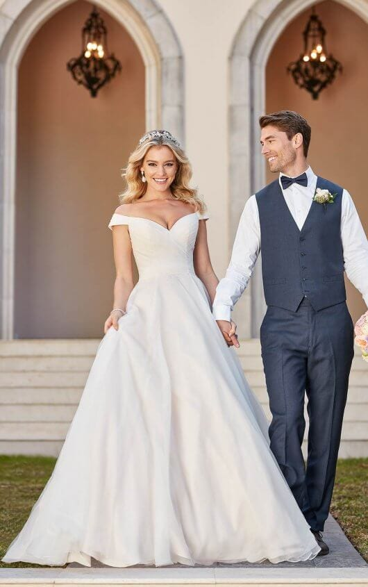 Stella York Wedding Dress Simple Classic