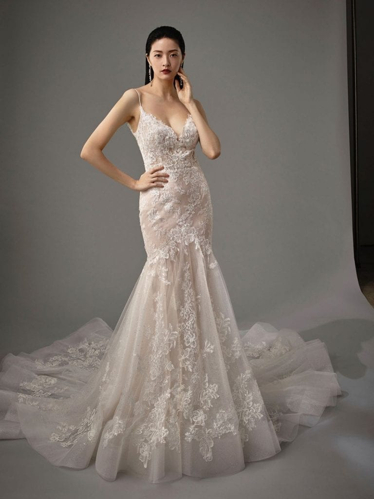 Enzoani Magnolia Wedding Dress Front