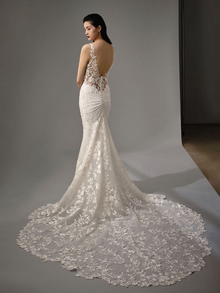 Enzoani Marci Wedding Dress Back