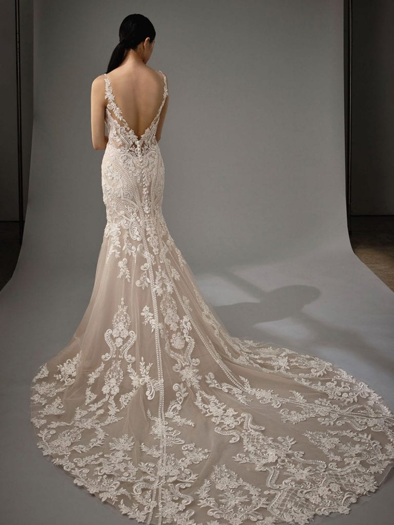 Enzoani Marianna Wedding Dress Back