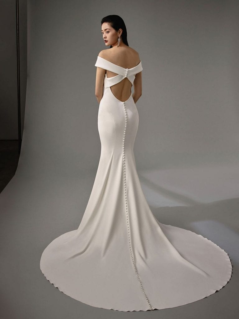 Enzoani Maylin Wedding Dress Back