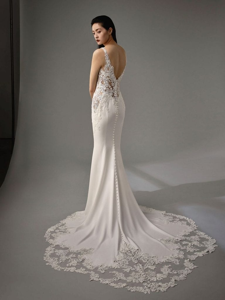 Enzoani Mimi Wedding Dress Back