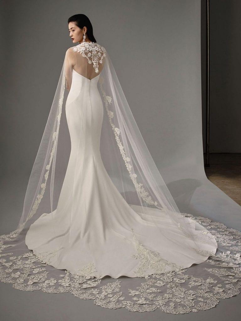 Enzoani Monika Wedding Dress Back